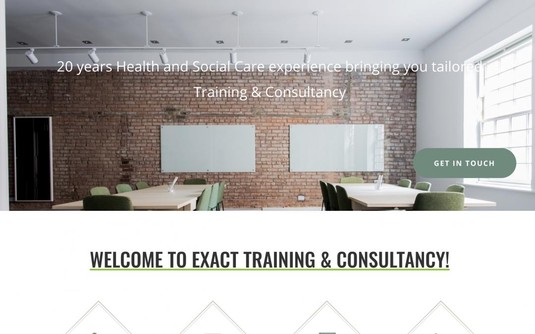 Exact Training Website